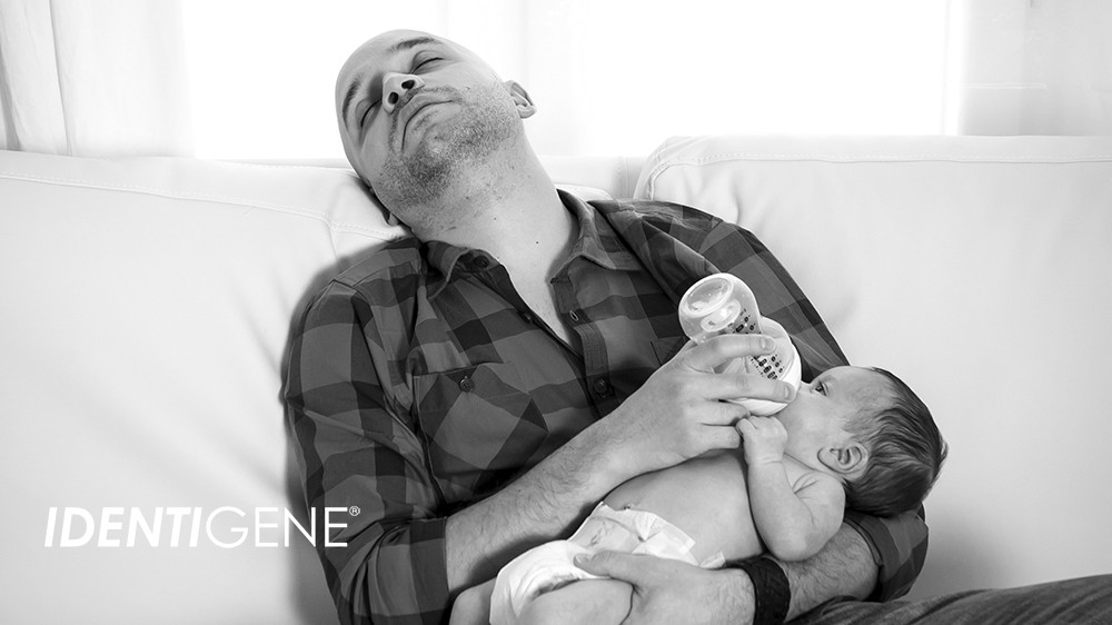 IDENTIGENE- paternity leave
