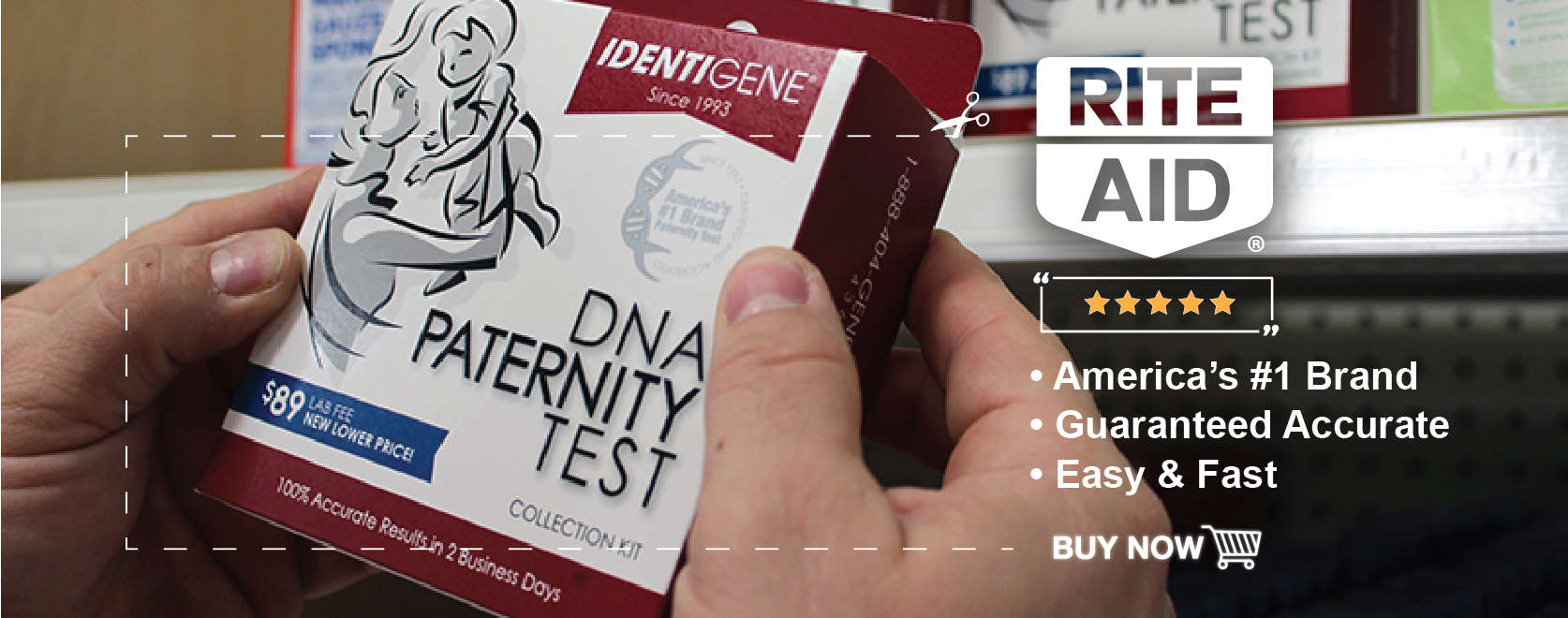 Get Deal Identigene Coupons, Identigene Coupon Code As the global leader in the field of DNA Testing, IDENTIGENE is committed to being on the cutting edge of offering new, service oriented DNA testing technologies.